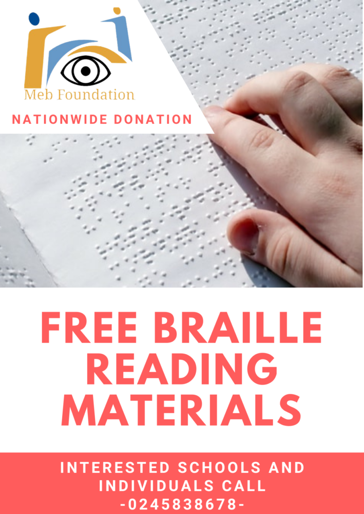 MEB FOUNDATION launches nationwide braille reading material donation